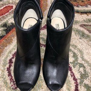Michael Kors open toed bootie
